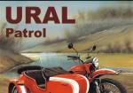Советский мотоцикл Урал (меловка)