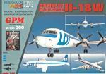 """Советский пассажирский самолёт Il-18W """"LOT"""""""