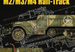 Kagero (Topdrawings). Armored Personnel Carrier M2/M3/M4 Half-Track