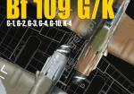 Kagero (Topdrawings). Messerschmitt Bf 109 G/K G-1, G-2, G-3, G-4, G-10, K-4