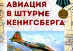 Советская авиация в штурме Кенигсберга