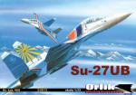 Российский истребитель Су-27УБ