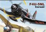 Американские истребители F4U-5NL Corsair + P-47 D Thunderbolt
