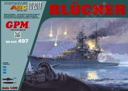 Немецкий тяжелый крейсер Blucher