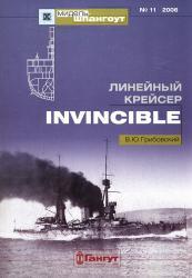 Мидель-шпангоут №11. Линейный крейсер «Invincible»
