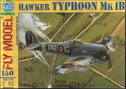 Британский истребитель Hawker Mk-1B Typhoon