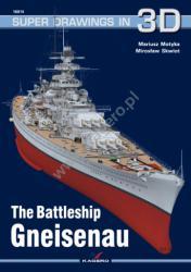 Kagero (3D). The Battleship Gneisenau