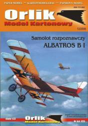 Немецкий биплан Albatros BI