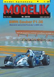 Гоночный болид BMW-Sauber F1.06