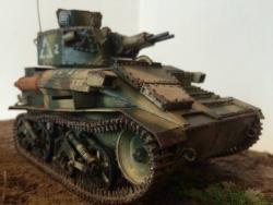 Модель-копия лёгкого разведывательного танка Mk-VIA