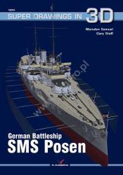 Kagero (3D). German Battleship SMS Posen