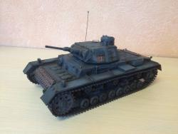 Модель-копия Германского среднего танка Sd.Kfz.141 Pz.Kpfw III Ausf B