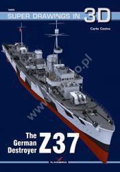 Kagero (3D). The German Destroyer Z 37