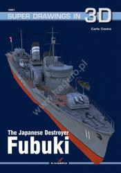Kagero (3D). The Japanese Destroyer Fubuki