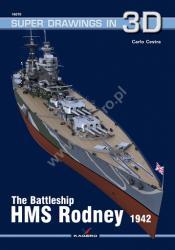 Kagero (3D). The Battleship HMS Rodney