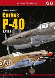 Kagero (Topdrawings). Curtiss P-40 B, C, D, E