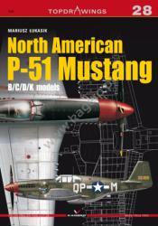Kagero (Topdrawings). North American P-51 Mustang B/C/D/K models