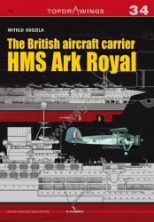Kagero (Topdrawings). The British aircraft carrier HMS Ark Royal
