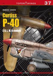 Kagero (Topdrawings). Curtiss P-40 F,K,L,M,N models