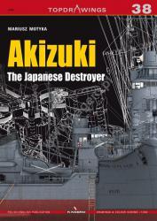 Kagero (Topdrawings). Akizuki. The Japanese Destroyer