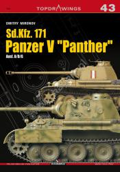 """Kagero (Topdrawings). Sd.Kfz. 171 Panzer V """"Panther"""" Ausf. A/D/G"""