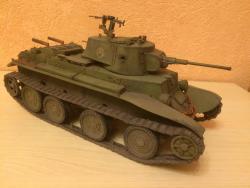 Советский танк БТ-7/7А