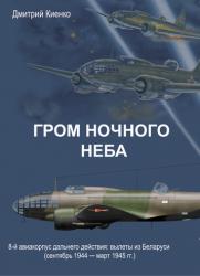 Гром ночного неба: 8-й авиакорпус дальнего действия: вылеты из Беларуси  (сентяб