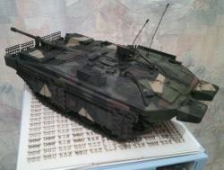Модель-копия Шведского основного боевого танка STRV 103