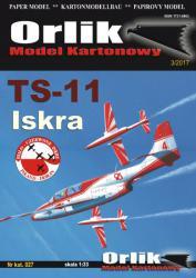 Польский реактивный двухместный учебно-тренировочный самолёт TS-11 Iskra