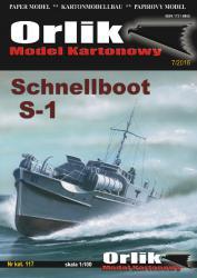 Немецкий торпедный катер Schnellboot S-1