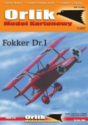 Немецкий триплан Fokker Dr.I