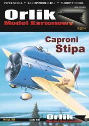 Итальянский самолет Caproni Stipa