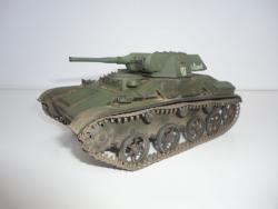 Модель-копия Советского Лёгкого танка Т-60
