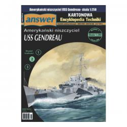 Американский эсминец USS Gendreau